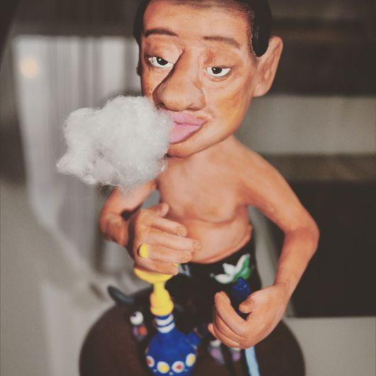 Портретные куклы ручной работы. Ярмарка Мастеров - ручная работа. Купить Портретная статуэтка шарж. Handmade. Шарж по фотографии