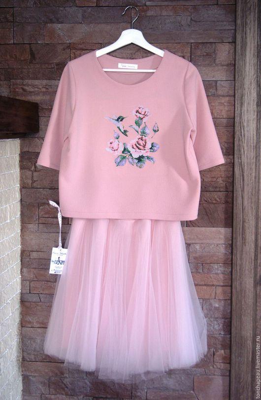 """Костюмы ручной работы. Ярмарка Мастеров - ручная работа. Купить Костюм """"Колибри"""". Handmade. Розовый, костюм женский, фатин"""