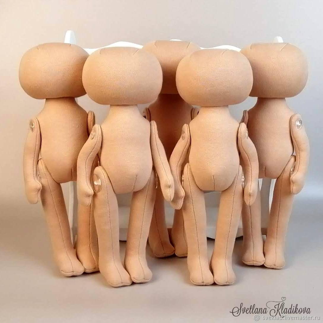 Заготовка для куклы рост 25см, Заготовки для кукол и игрушек, Тольятти,  Фото №1