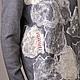 """Кофты и свитера ручной работы. Свитер ручной работы """"Мокрые камни"""". Катя Щукина шерстяных дел мастер. Ярмарка Мастеров."""