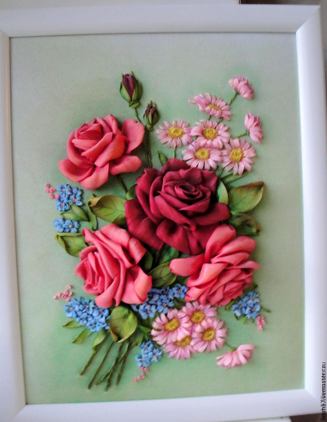 коробочка с цветами для колец фото