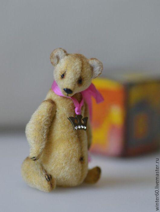 Мишки Тедди ручной работы. Ярмарка Мастеров - ручная работа. Купить Мишка Трофимка. Handmade. Бежевый, миник