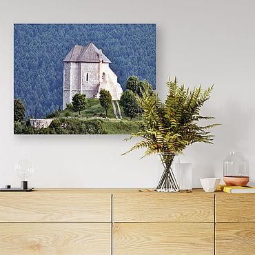 Картины и панно ручной работы. Ярмарка Мастеров - ручная работа Картина на холсте Старый замок. Handmade.