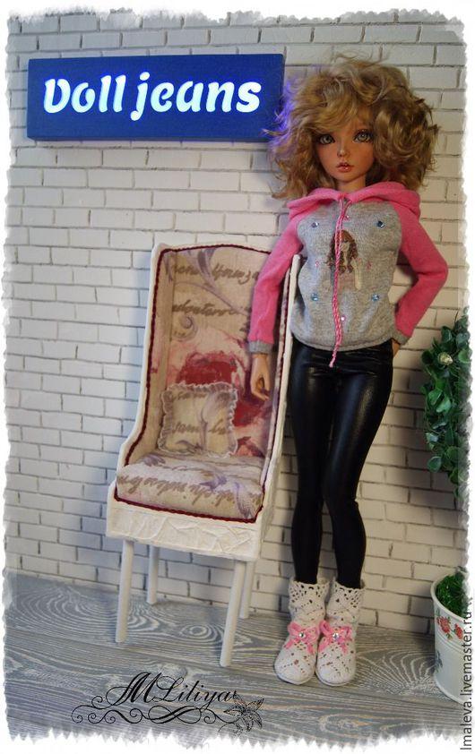 """Одежда для кукол ручной работы. Ярмарка Мастеров - ручная работа. Купить Комплект """"РОЗОВЫЙ"""". Handmade. Комбинированный, одежда для кукол"""