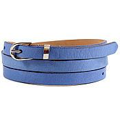 Аксессуары handmade. Livemaster - original item Leather navy belt. Handmade.