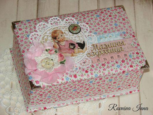 Подарки для новорожденных, ручной работы. Ярмарка Мастеров - ручная работа. Купить Мамины сокровища для девочки. Handmade. Сделано с любовью