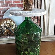 Для дома и интерьера ручной работы. Ярмарка Мастеров - ручная работа Стол-бутылка. Handmade.