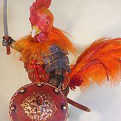 Куклы и игрушки ручной работы. Ярмарка Мастеров - ручная работа Красный петух. Handmade.