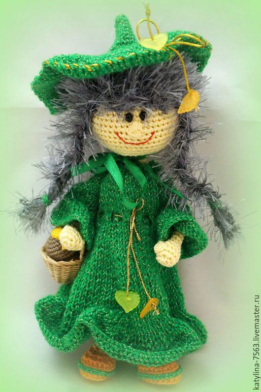"""Сказочные персонажи ручной работы. Ярмарка Мастеров - ручная работа. Купить """"Лесная Фея"""". Handmade. Зеленый, лесная фея, волшебница"""