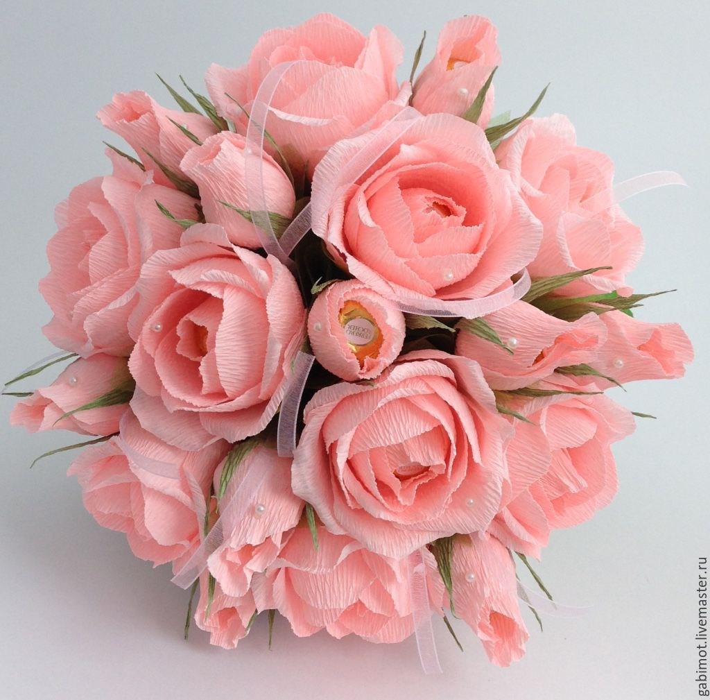 Купить розы из конфет купить семена шток розы махровой