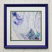 Картины и панно ручной работы. Ярмарка Мастеров - ручная работа живопись на воде 13. Handmade.
