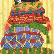 Картины и панно ручной работы. Ярмарка Мастеров - ручная работа Percy on Pillows Перс на подушках). Handmade.