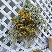 Цветы и флористика ручной работы. Ярмарка Мастеров - ручная работа Луговые травы в букете. Handmade.