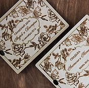 Материалы для творчества ручной работы. Ярмарка Мастеров - ручная работа Деревянная коробка. Handmade.