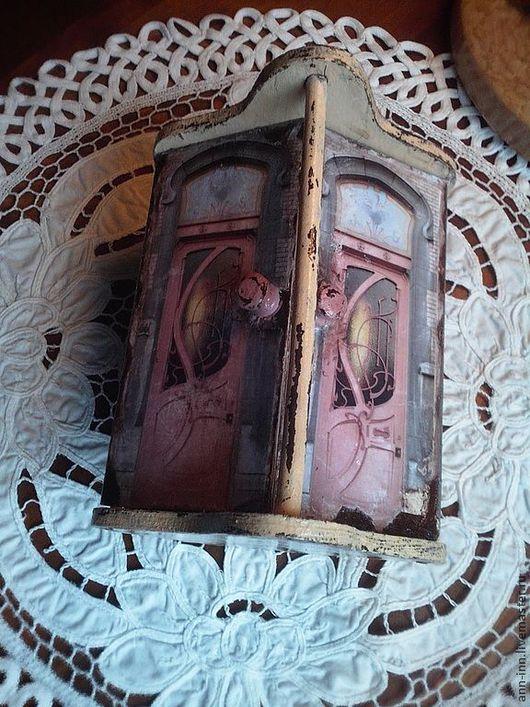 """Шкатулки ручной работы. Ярмарка Мастеров - ручная работа. Купить Шкатулка """"Дверь в Париж"""". Handmade. Шкатулка, Париж, винтажный стиль"""