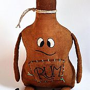 """Куклы и игрушки ручной работы. Ярмарка Мастеров - ручная работа """"Йо-хо-хо и бутылка рому!"""". Handmade."""