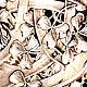 """Винтаж: 19в! Редкие Антикварные французские щипцы """"Клевер"""". Винтажная кухонная утварь. Пески Времени       (Olga). Ярмарка Мастеров. Фото №5"""