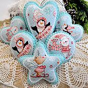 Сувениры и подарки handmade. Livemaster - original item Christmas decorations from felt