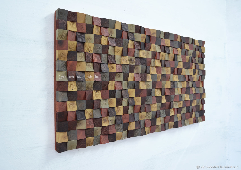 Панно-мозаика из дерева, Картины, Киров,  Фото №1