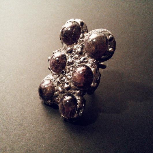 """Кольца ручной работы. Ярмарка Мастеров - ручная работа. Купить Кольцо """"Six Moons"""" (ручная работа, единственный экземпляр). Handmade."""