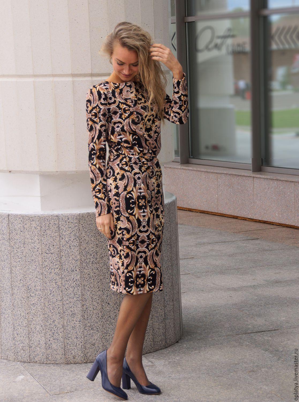 c825dab71e9 Платье миди Элисон – купить в интернет-магазине на Ярмарке Мастеров ...