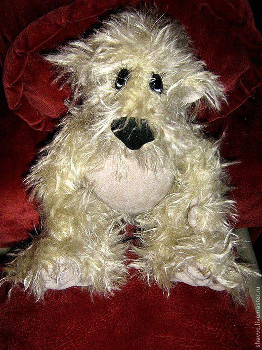 Мишки Тедди ручной работы. Ярмарка Мастеров - ручная работа. Купить Фрося. Handmade. Серый, мишка в подарок, подарок на новый год