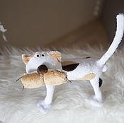 Куклы и игрушки ручной работы. Ярмарка Мастеров - ручная работа Кот бывалый. Handmade.