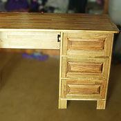 Для дома и интерьера ручной работы. Ярмарка Мастеров - ручная работа Стол компьютерный массив бука. Handmade.