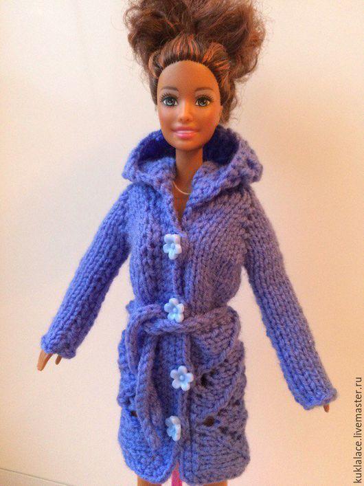 Вязание крючком пальто для барби 41