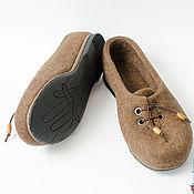 """Обувь ручной работы. Ярмарка Мастеров - ручная работа Туфли женские ручной работы из войлока """"Туфельки для Грэтхен"""". Handmade."""