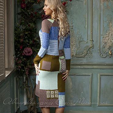 """Одежда ручной работы. Ярмарка Мастеров - ручная работа Платье """"Печворк"""". Handmade."""