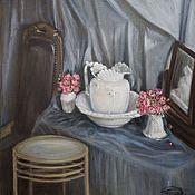 Картины ручной работы. Ярмарка Мастеров - ручная работа Натюрморт с кувшином. Handmade.