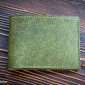 Сумки и аксессуары handmade. Livemaster - original item Wallet / purse made of genuine leather. Handmade.