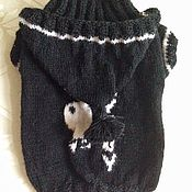 """Для домашних животных, ручной работы. Ярмарка Мастеров - ручная работа Вязаный свитер """"Плейбой"""". Handmade."""