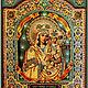 Набор `Образа в каменьях` икона Богородица Споручница грешных