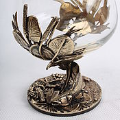 Посуда handmade. Livemaster - original item Glass of cognac