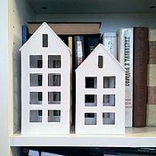 Для дома и интерьера ручной работы. Ярмарка Мастеров - ручная работа Домик Фонарик большой вариант 1. Handmade.