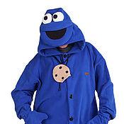 Субкультуры handmade. Livemaster - original item Cookie Monster Sesame Street TV show Kigurumi - Custom Handmade. Handmade.