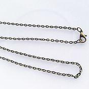 Материалы для творчества handmade. Livemaster - original item Chain, antique bronze 50cm. Handmade.