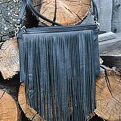 """Классическая сумка ручной работы. Ярмарка Мастеров - ручная работа Кожаная сумочка """"Миссис Бос"""". Handmade."""