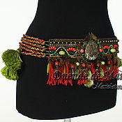 """Одежда ручной работы. Ярмарка Мастеров - ручная работа Пояс для танца tribal """"Сила дракона"""". Handmade."""