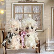 """Куклы и игрушки ручной работы. Ярмарка Мастеров - ручная работа Новогодняя композиция """"В гостях у Овечки"""", авторские игрушки овечки те. Handmade."""