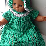 Работы для детей, handmade. Livemaster - original item summer dress for girls. Handmade.