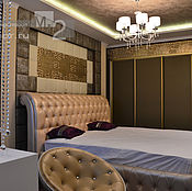 Дизайн и реклама handmade. Livemaster - original item Bedroom decor decorative plaster panels. Handmade.