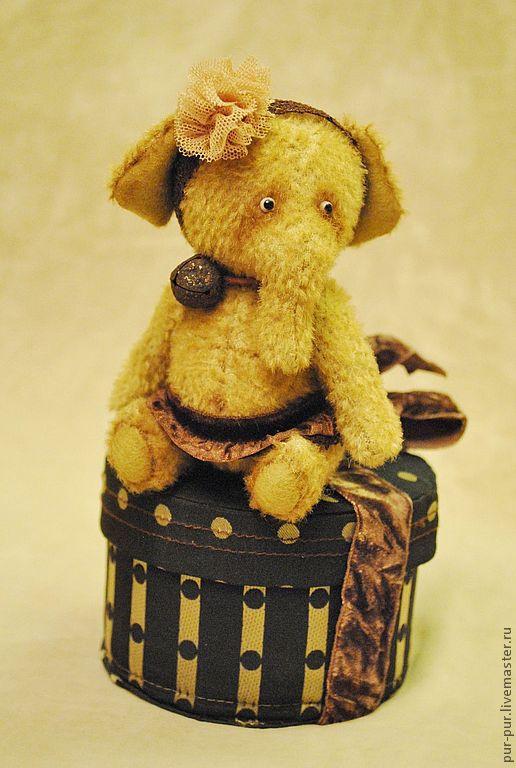 Мишки Тедди ручной работы. Ярмарка Мастеров - ручная работа. Купить Имбирная Пряничка. Handmade. Коричневый, слоны