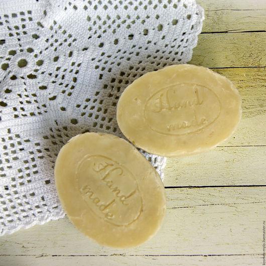 Мыло натуральное с нуля ручной работы. Handmade. Натуральная косметика. Ярмарка Мастеров - купить мыло. Оливковое. Мыло для всей семьи. Био-мыло.
