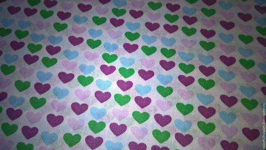 магазин тканей, ткань купить, купить хлопок, купить ткань , ткань для шитья, ткань для постельного, хлопок для творчества, хлопок для шитья, магазин детских тканей,ткань в мелкий рисунок, сердечки