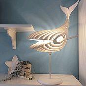 Настенные светильники ручной работы. Ярмарка Мастеров - ручная работа Кит светильник. Handmade.