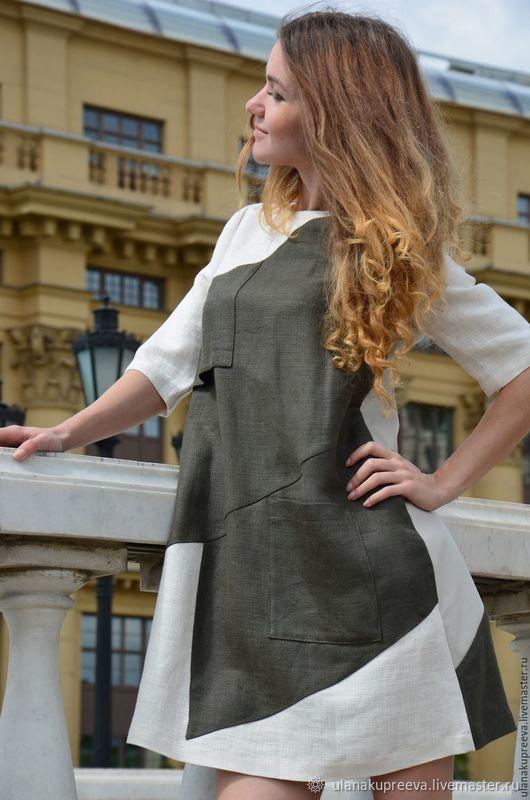 Платье летнее «Baby doll» – заказать на Ярмарке Мастеров – FLWURRU | Платья, Москва