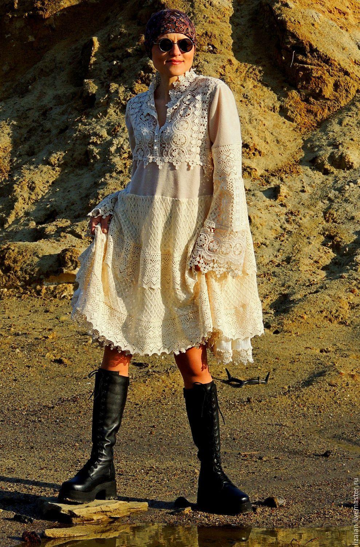 73b0ea8ad03 Платья ручной работы. Ярмарка Мастеров - ручная работа. Купить Платье в стиле  БОХО.